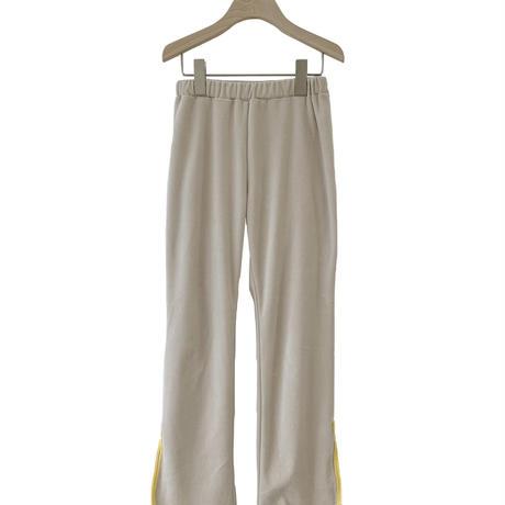 【UNIONINI】 velours long pants