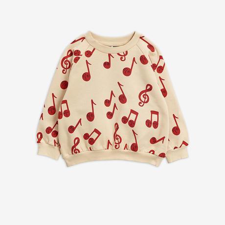 【Mini Rodini】Notes aop sweatshirt