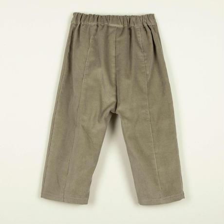 【POPELIN】Stone pleat trousers