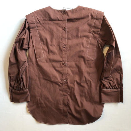 【GRIS】Tuck Shouder Shirts(サイズXL)