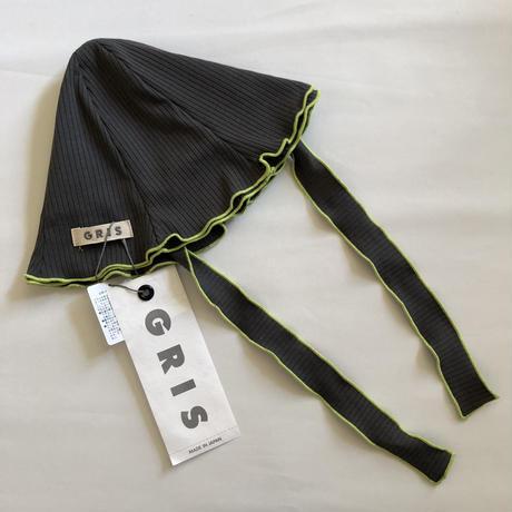 【GRIS】 Rib Hat (Gray)