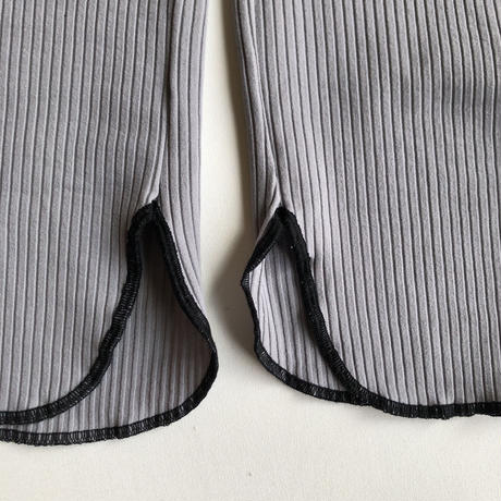 【GRIS】Rib Straight Pants (サイズS)