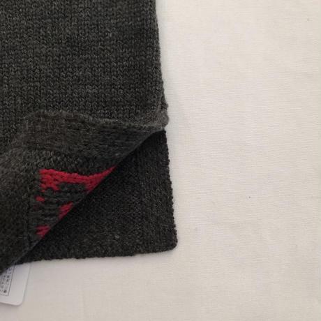 【GRIS】Logo Knit Snood