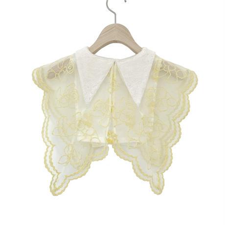 【UNIONINI】 fur collar(lemon)