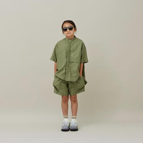 【MOUN TEN.】moleskin shirts (サイズ大人0)