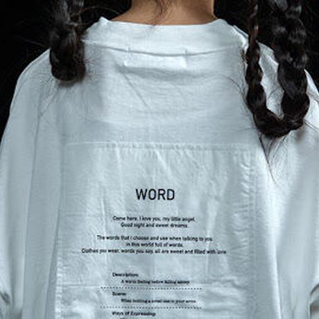 """【UNIONINI】""""WORD"""" tee"""