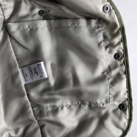 【MOUN TEN.】quilt mitten coat