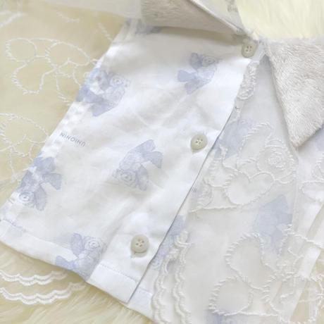 【UNIONINI】 fur collar(white)