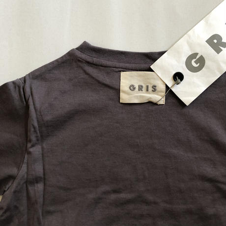 【GRIS】Back Flare T Shirt