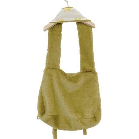 【UNIONINI】   fur shoulder bag(mustard)
