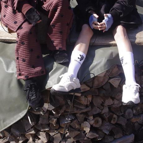 【UNIONINI】 jaqcard teddy bear socks