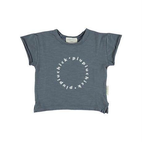 【piupiuchick】Logo t-shirt GREY