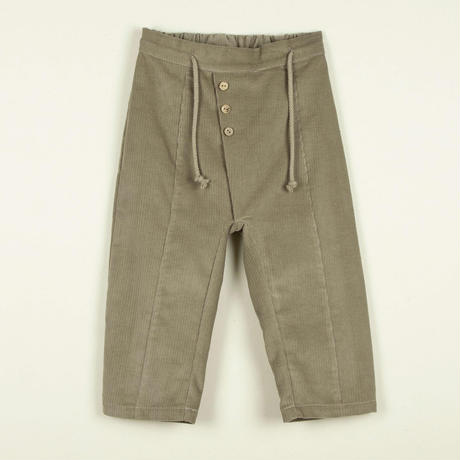 【POPELIN】Stone pleat trousers
