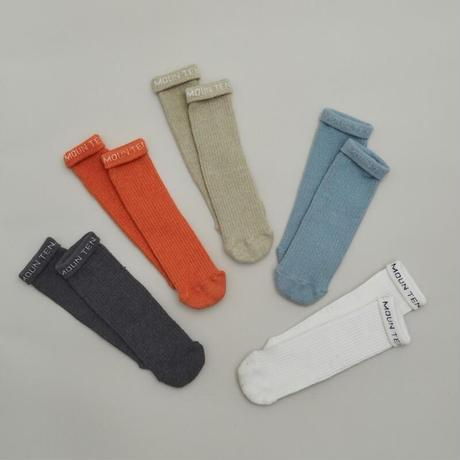 再々入荷!【MOUN TEN.】logo tube socks