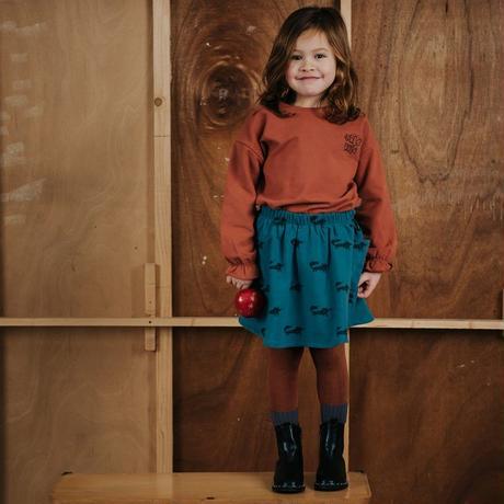 【SPROET&SPROUT】 KIDS TIGHTS RIB COLOURBLOCK AUBUN