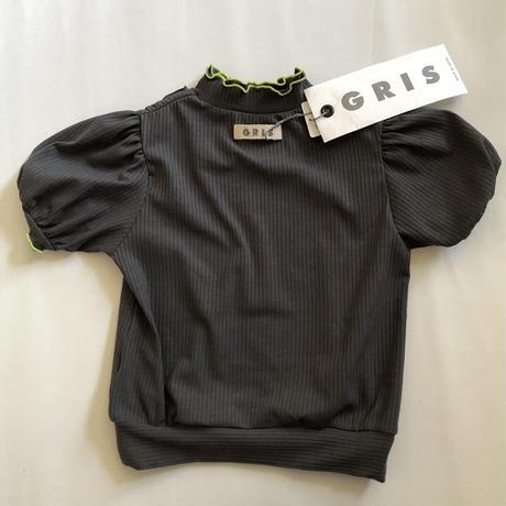 【GRIS】Rib Pullover Tops  (Gray) (サイズM、L)