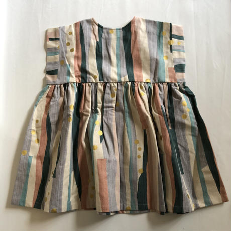 【eLfinFolk】  Crambon stripe dress