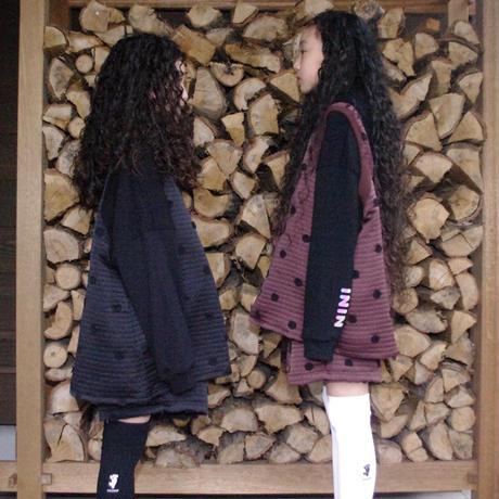 【UNIONINI】matelasse pullover vest
