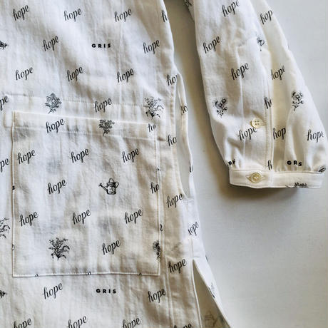 【GRIS】Shirt Gown