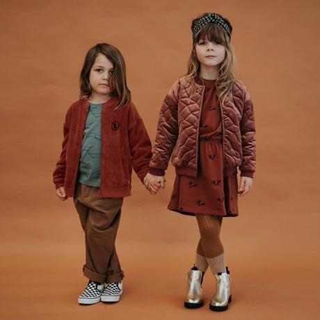 【SPROET&SPROUT】 KIDS SOCKS RIB COLORBLOCK MUSTARD