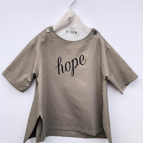 【GRIS】Pullover Big Shirts hope(サイズM)
