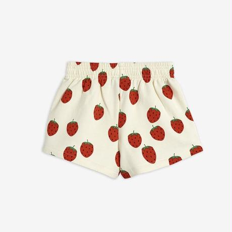 【Mini Rodini】Strawberry aop sweatshorts