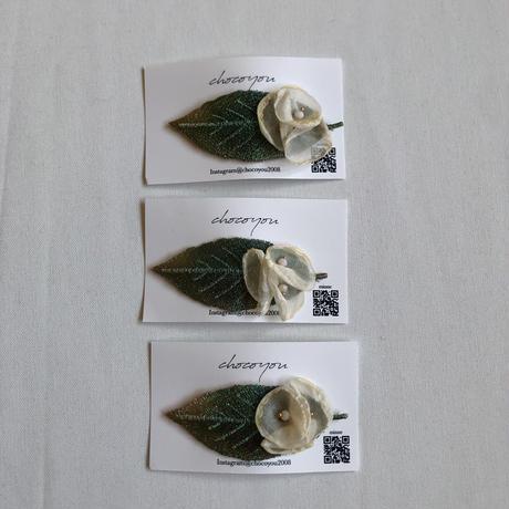 【chocoyou】leaf flower pin
