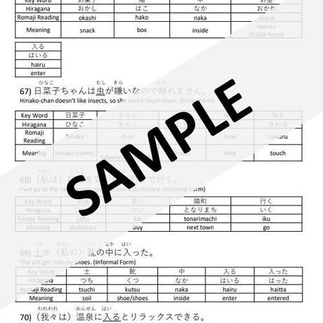 Ichiyo's Kanji Textbook Part 1 (PDF)