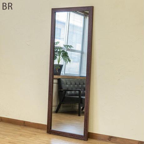 サカベ 【LBRのみ予約販売】【離島・日時指定不可】MANO アンティークジャンボミラー BR/DBR/WH/LBR