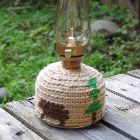 森とクマ ガス缶(OD缶)カバー