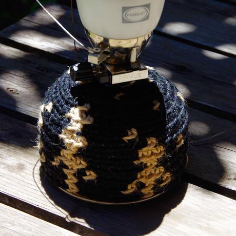 星降る森 ガス缶(OD缶)カバー ブラック