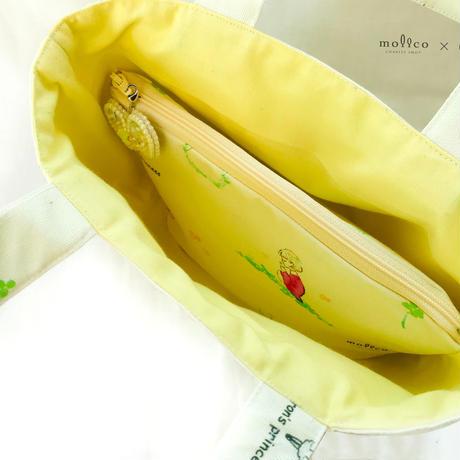 ポーチ〜花冠と女の子柄〜
