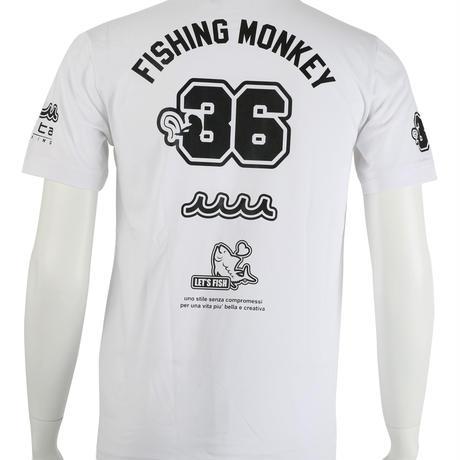 muta(ムータ)コラボ Tシャツ フィッシングモンキー/FISHING MONKEY