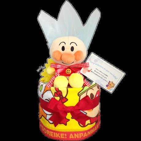 アンパンマンのおむつケーキ│出産祝いに人気 お祝いギフト男の子or女の子