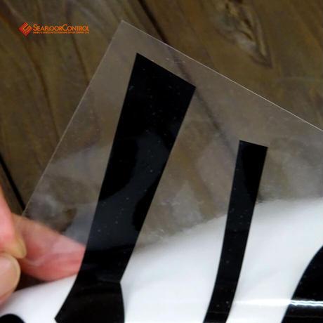 IFC ×SFC :SFC LOGO CUTTINING STICKER M-SIZE(W200*H140mm)