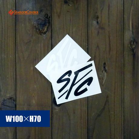 IFC ×SFC :SFC LOGO CUTTINING STICKER S-SIZE(W100*H70mm)