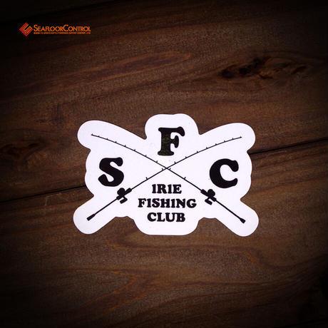 IFC(アイリーフィッシングクラブ)×SFC コラボステッカー(クロスロッド)3枚セット