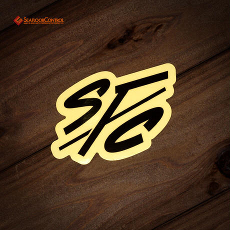 IFC(アイリーフィッシングクラブ)×SFC コラボステッカー(SFCロゴ)