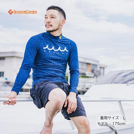 muta MARINE FISHING(ムータマリンフィッシング)×SFC ラッシュロングTシャツ