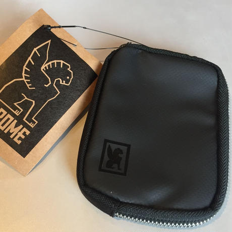 CHROME ZIP WALLET【BLACK】