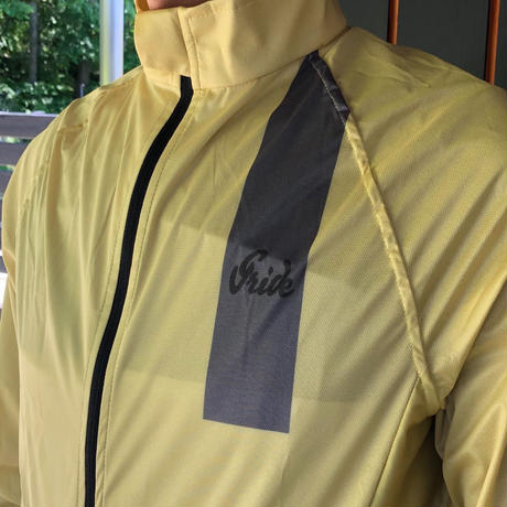WIND SHIELD JACKET   LIGHT YELLOW 【SALE 50%OFF 】