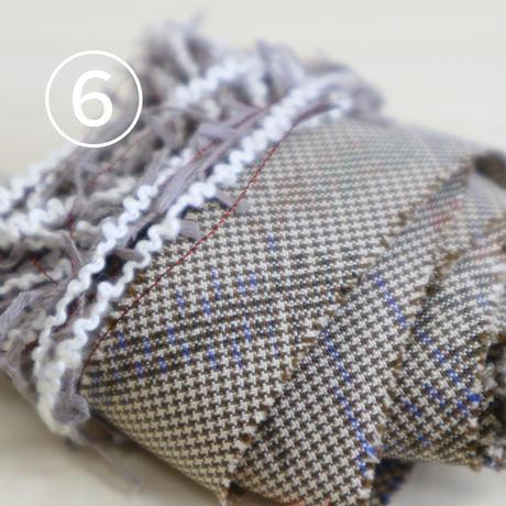 禾-ine-×kimonoyarn三つ編みシュシュキット