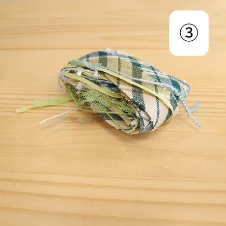 【new】禾-ine-×kimonoyarn三つ編みシュシュキット
