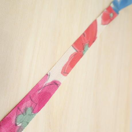 生成に3色の花柄2m(2005059)