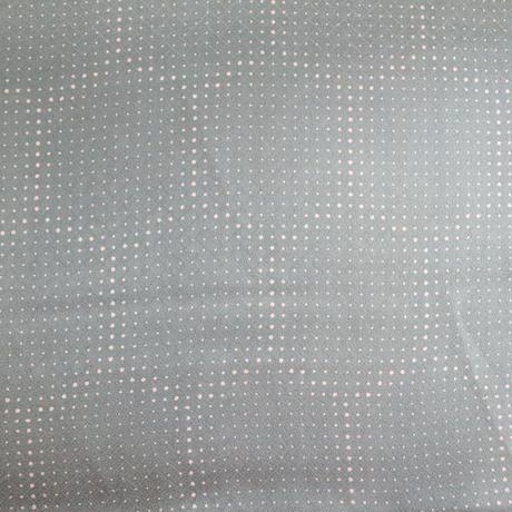 【はぎれ】藍鼠色(ブルーグレー)に大小霰・紋縮緬(2008054‐1)