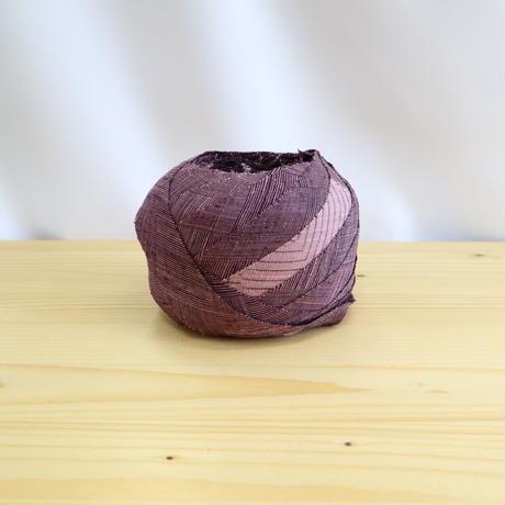 【幅25mm】滅紫色の紬2m(2103008)