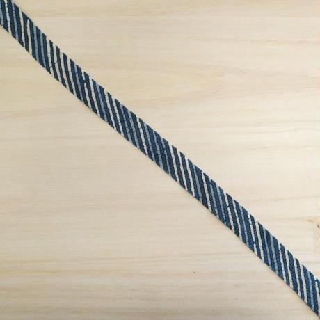 生成り・縹色・薄い縹色の3色の縞模様2m(5025)