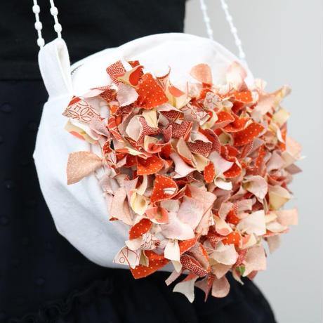 【Staff Mariko Produce】キモノヤーンのふりふりミニバッグキット