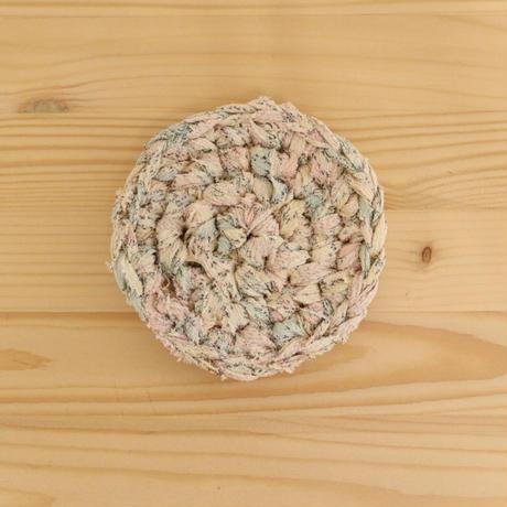 【編み物キット】シンプルコースター・ペアキット(初心者にお勧め)
