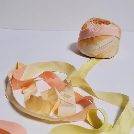 薄い桃・黄・黄緑・橙のグラデーション(10159)